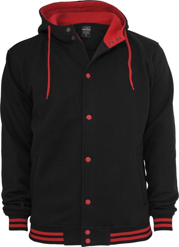 Urban Classics Herren Hooded College Sweatjacke - Regular Fit kaufen ... 51abc9acfb