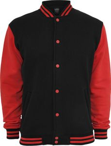 Urban Classics Herren 2-tone College Sweatjacke - Regular Fit 1/2
