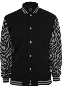 Urban Classics Herren 2-tone Zebra College Jacke - Regular Fit