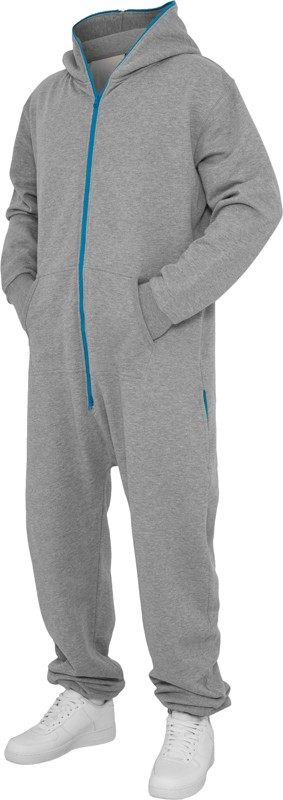 Urban Classics Herren Sweat Jumpsuit - Regular Fit