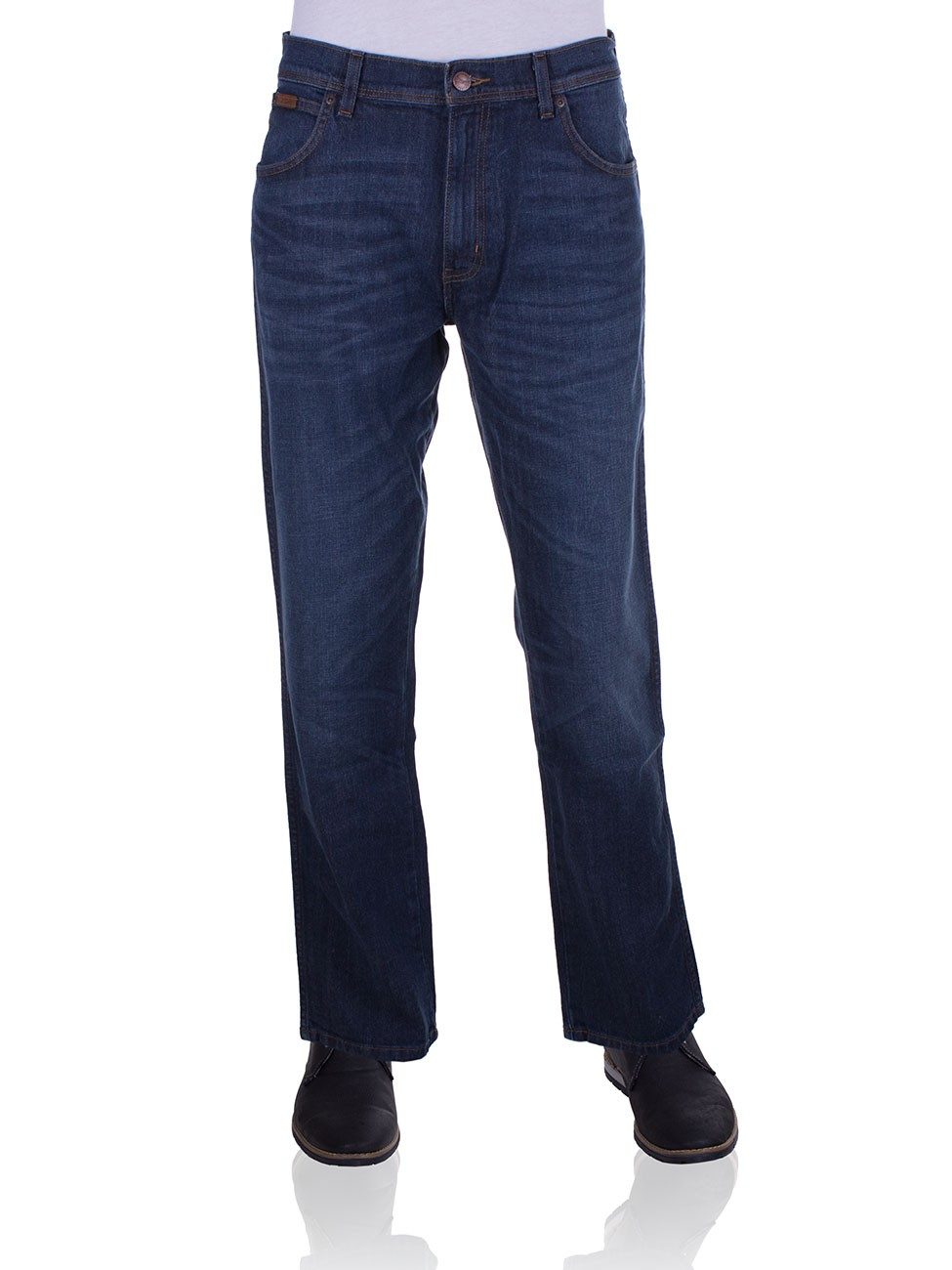 Wrangler Herren Jeans Texas Stretch Straight - Regular Fit  - SMU