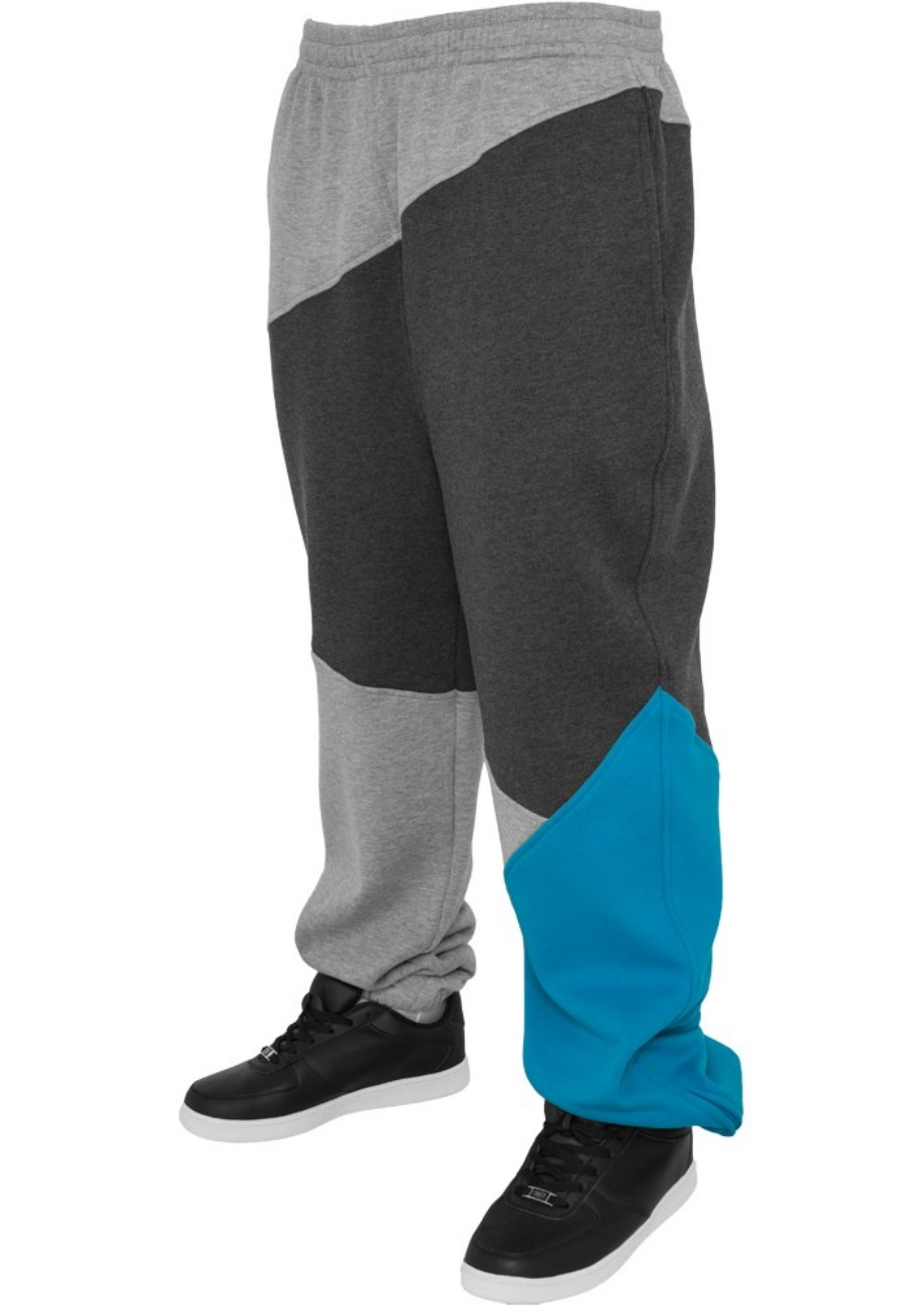 Urban Classics Herren Jogginghose Zig Zag Sweatpants - Urban Fit