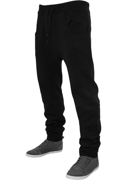 Urban Classics Herren Jogginghose Deep Crotch Sweatpant - Regular Fit