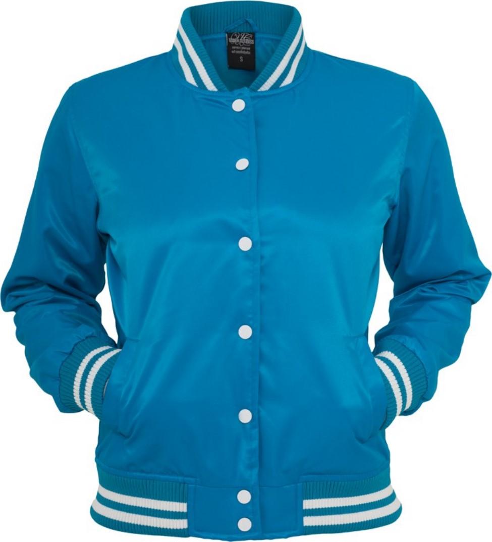 Urban Classics Damen Shiny College Jacke