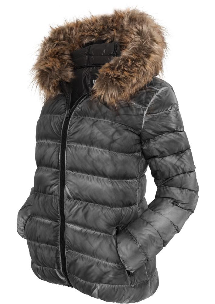 Urban Classics Damen Spray Dye Winter Jacke