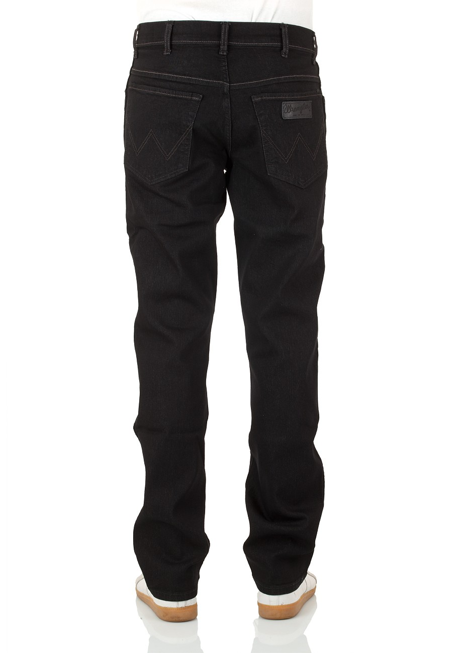 Wrangler Herren Jeans Texas Stretch - Regular Fit - Raven