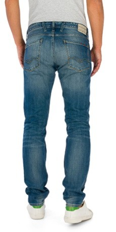 Replay Herren Jeans Anbass - Slim Fit - Blue