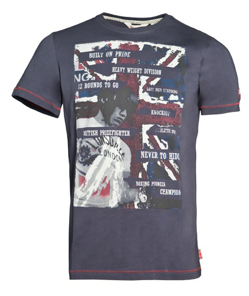 Lonsdale London T-Shirt WALSALL 113320 Slim Fit