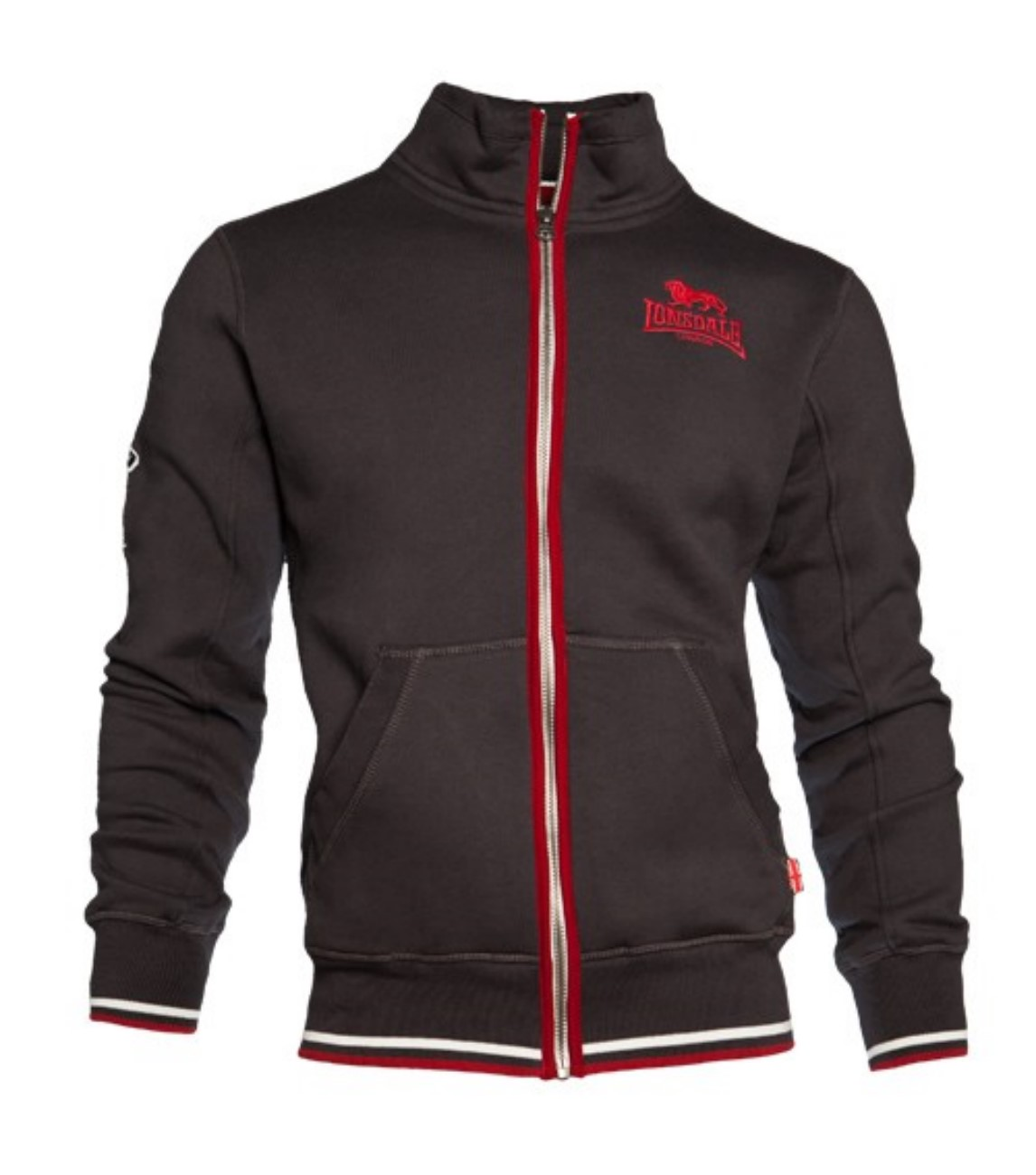 Lonsdale London Herren Sweatjacket 113349 WORTHING Zipsweat