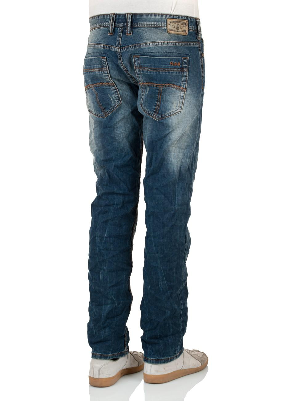 MOD Herren Jeans Thomas W113-1014 Comfort Fit auburn blue