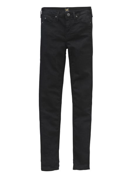 Lee Damen Jeans Skyler - Skinny Fit - Black Rinse