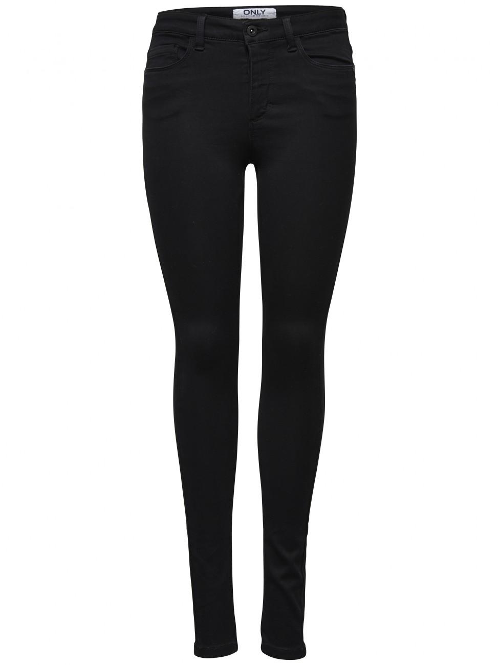 Only Damen Jeans Royal - Skinny Fit - Black