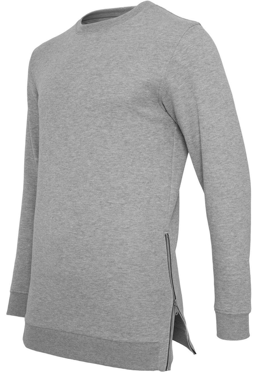 Urban Classics Herren Sweatshirt Side Zip Crew