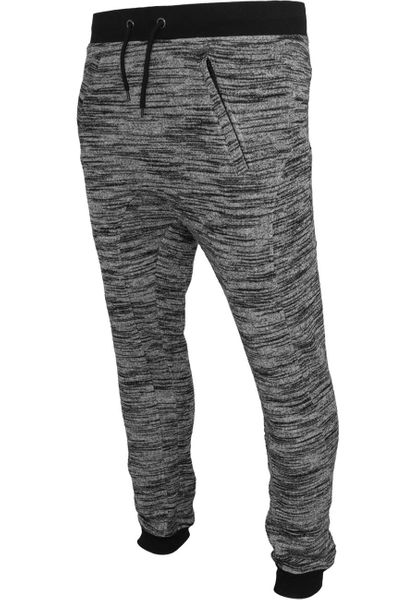 Urban Classics Herren Fitted Terry Melange Sweatpants Shorts