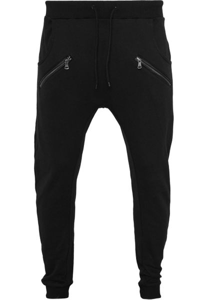 Urban Classics Herren Zip Deep Crotch Sweatpants