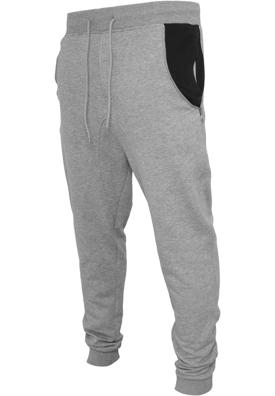 Urban Classics Herren Side Zip Contrast Pocket Sweatpant