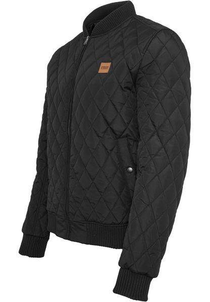 Urban Classics Herren Jacke Diamond Quilt Nylon Jacke