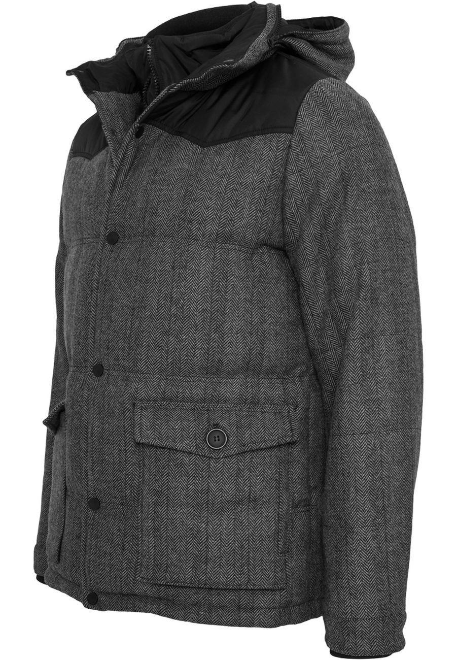 Urban Classics Herren Jacke Material Mixed Winter Jacke