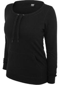 Urban Classics Damen Sweatshirt Damen Wideneck Pocket Crew