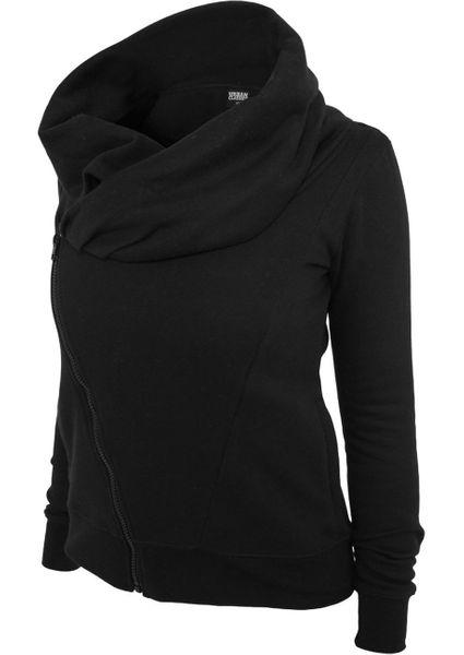 Urban Classics Damen Asymetric Zip Jacke