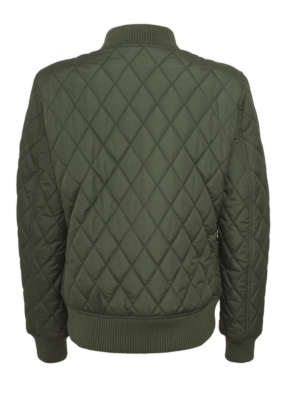 Urban Classics Damen Diamond Quilt Nylon Jacke
