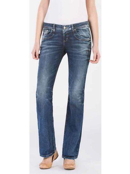LTB Damen Jeans Valerie - Bootcut - Blue Lapis Wash