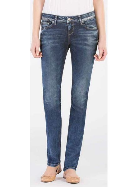LTB Damen Jeans Aspen - Slim Straight - Blue Lapis Wash