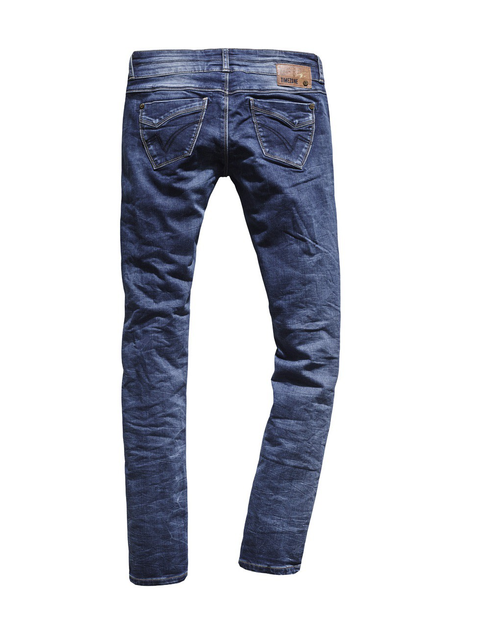 Timezone Damen Jeans EnyaTZ - Slim Fit - Workman Wash