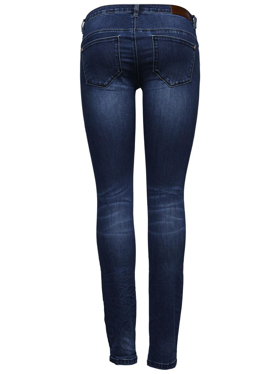 Only Damen Jeans onlCORAL - Skinny Fit - Medium Blue Denim