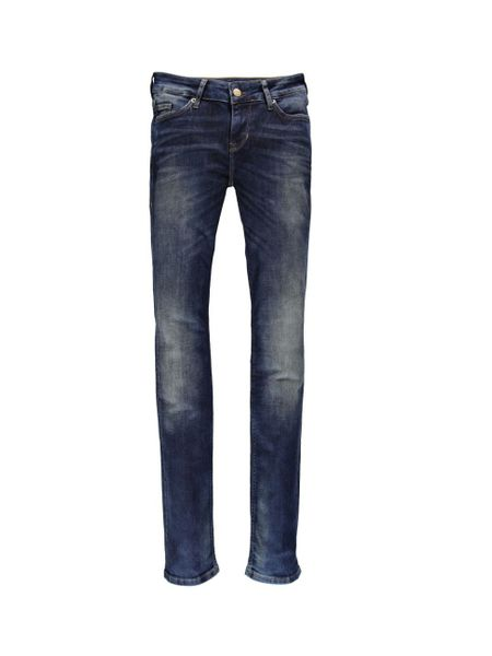 Mustang Damen Jeans Jasmin - Slim Fit - Dark Used
