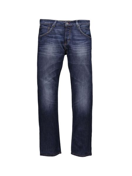 Mustang Herren Jeans Michigan - Straight Fit - Total Brushed