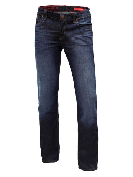 Cross Jeans Herren Jeans Dylan - Regular Fit - Midnight Dark Used