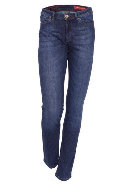 Cross Jeans Damen Jeans Anya - Slim Fit - Dark Used