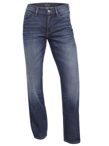 Cross Jeans Herren Jeans Antonio - Relax Fit - True Dark Blue Used
