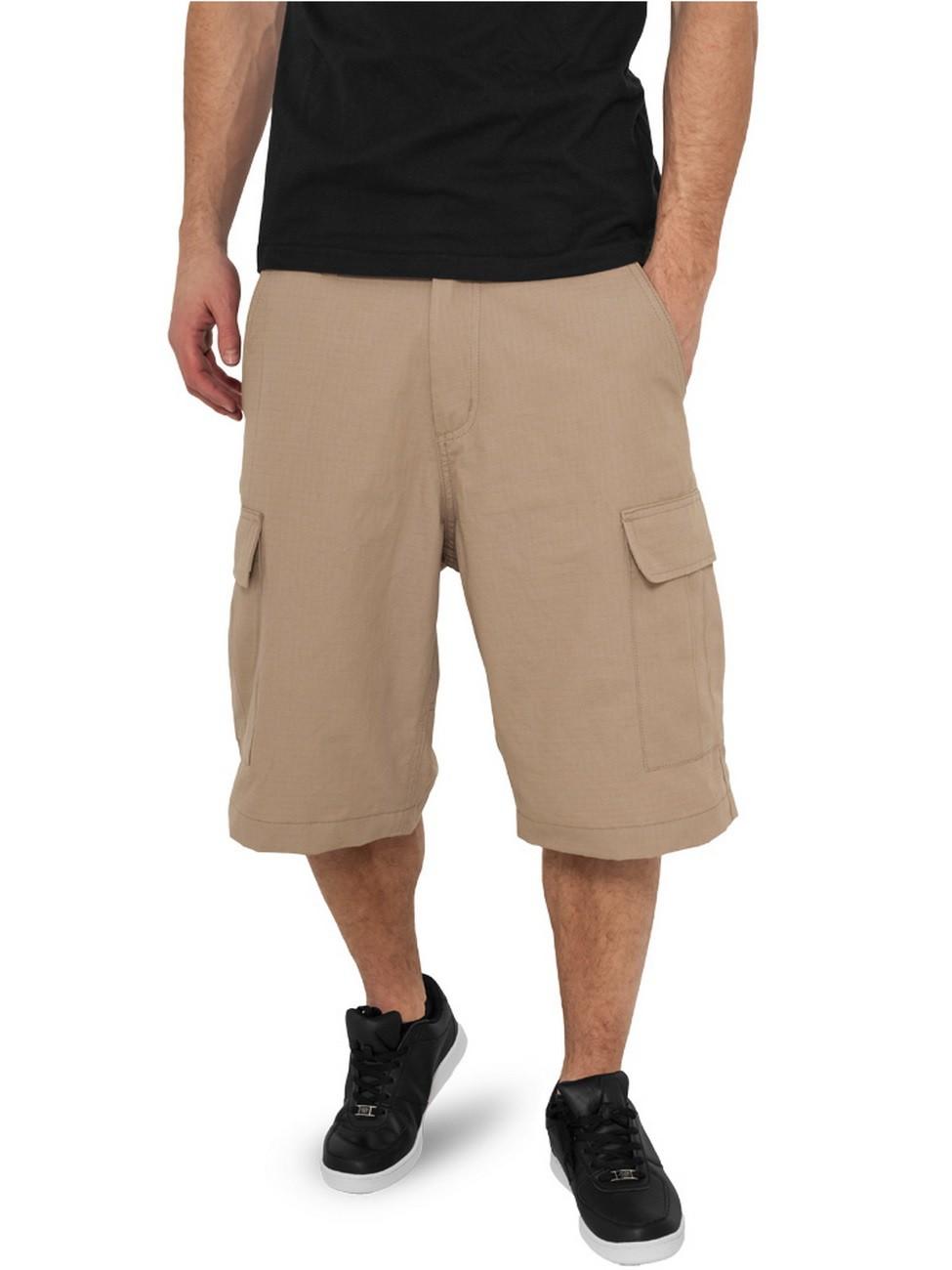 Urban Classics Herren Camouflage Cargo Shorts
