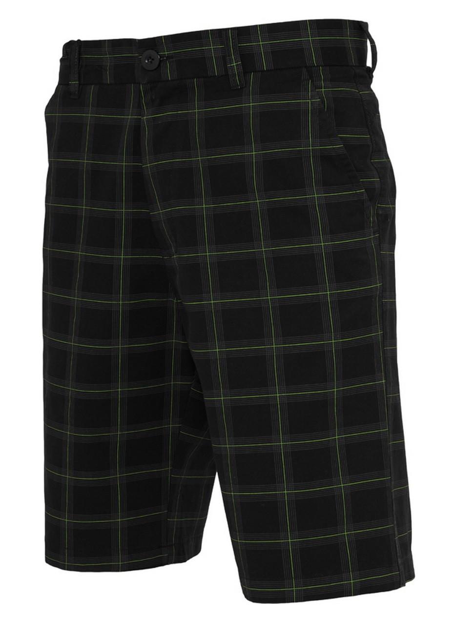 Urban Classics Herren Checked Shorts