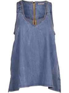 Wrangler Damen Top - Light Blue