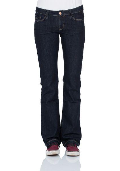 Cross Jeans Damen Jeans Laura - Bootcut - Rinsed