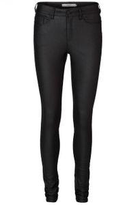 Vero Moda Damen Hose 10138972 VMSEVEN NW S.SLIM SMOOTH COATED PANTS