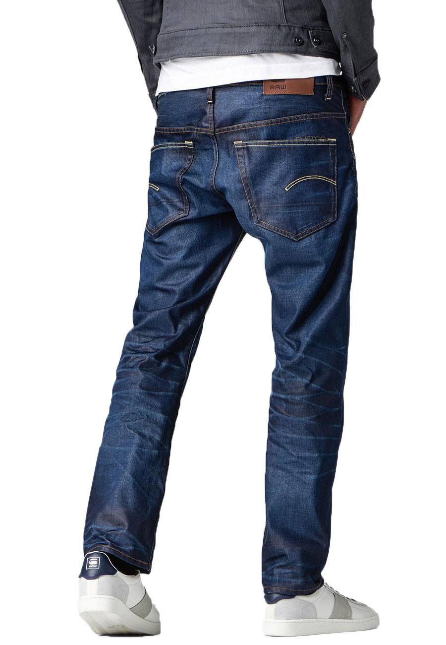 G-Star Jeans 3301 Herren Straight Jeans - Dark Aged
