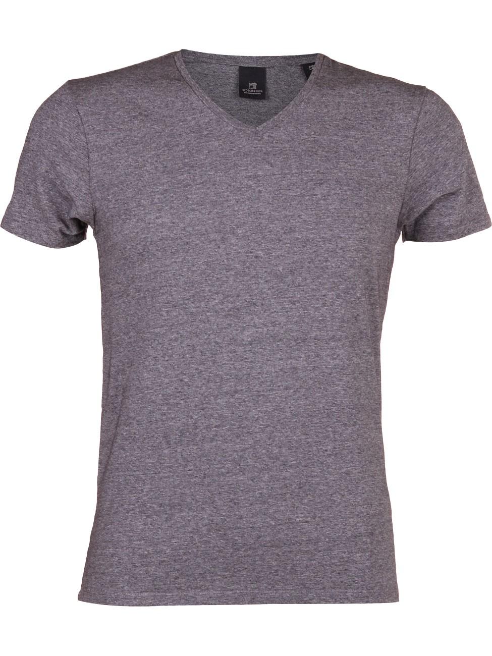 Scotch & Soda Herren T-Shirt V-Ausschnitt Classic