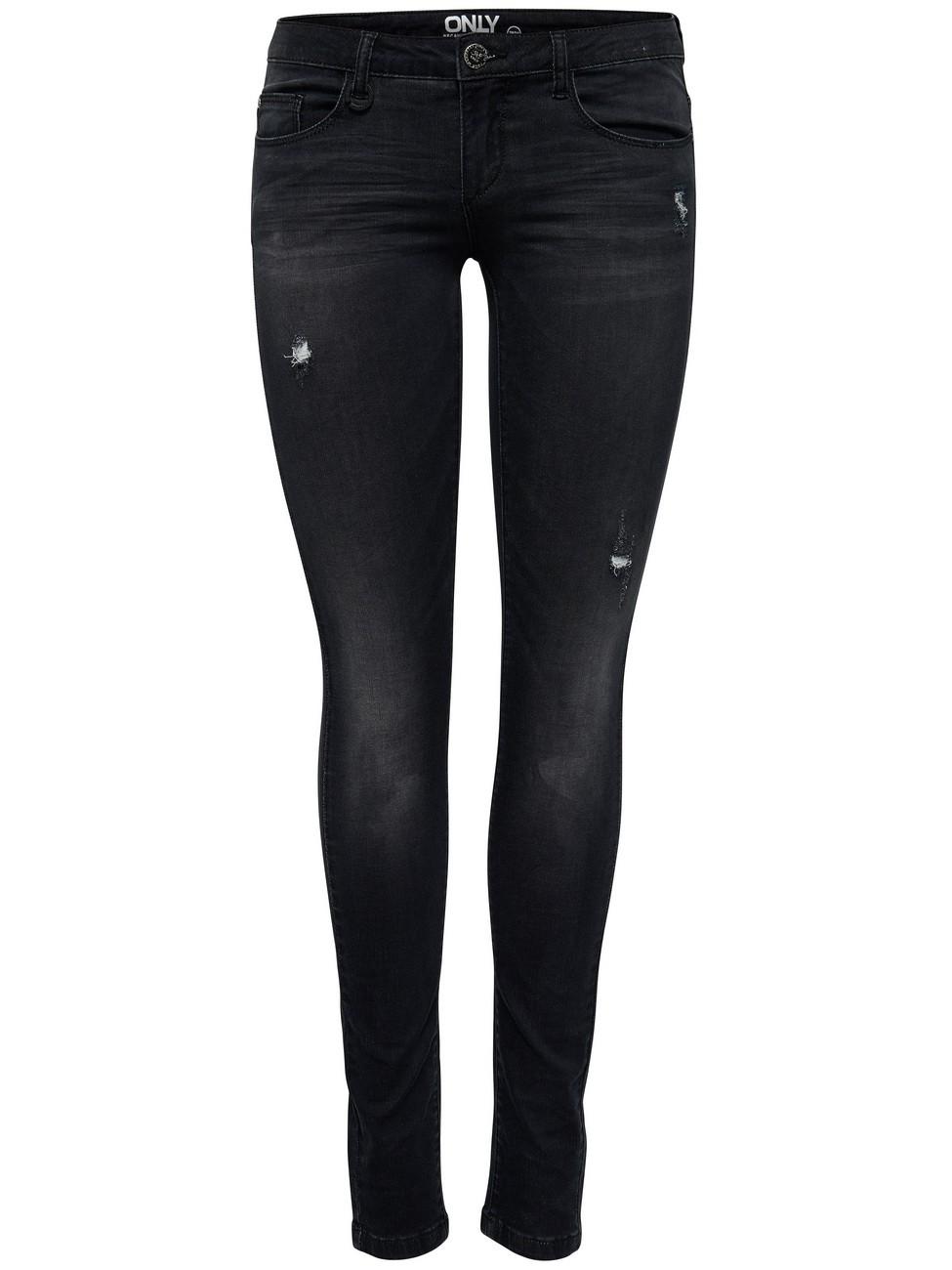 Only Damen Jeans onlCORAL - Skinny Fit - Black