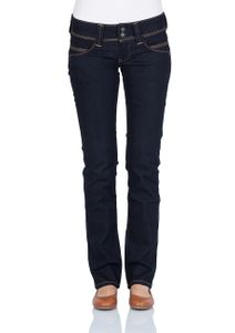 Pepe Jeans Damen Jeans Venus - Regular Fit - Rinse Plus