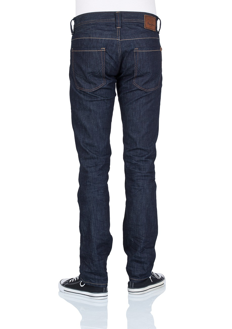 Pepe Jeans Herren Jeans Cash - Regular Fit - Clean Twill