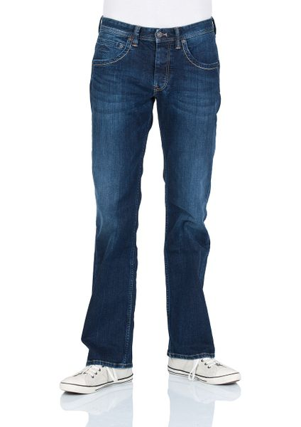 Pepe Jeans Herren Jeans Jeanius - Comfort Fit - Streaky Stretch Dk