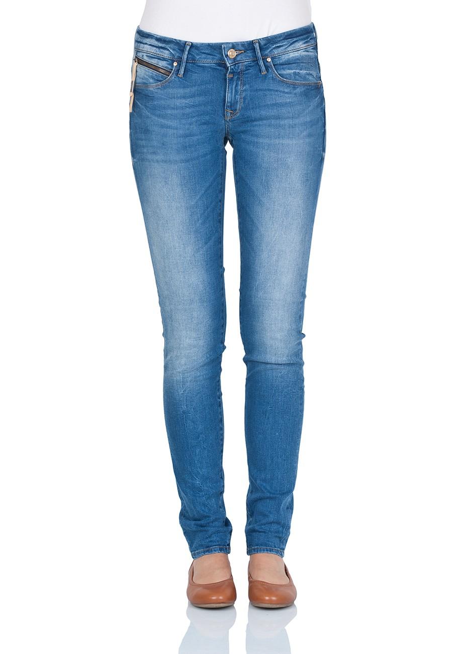 Mavi Damen Jeans Serena - Skinny Fit - Mid Glam