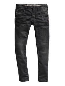Timezone Herren Jeans HaroldTZ rough - Regular Fit - Black Faced Wash
