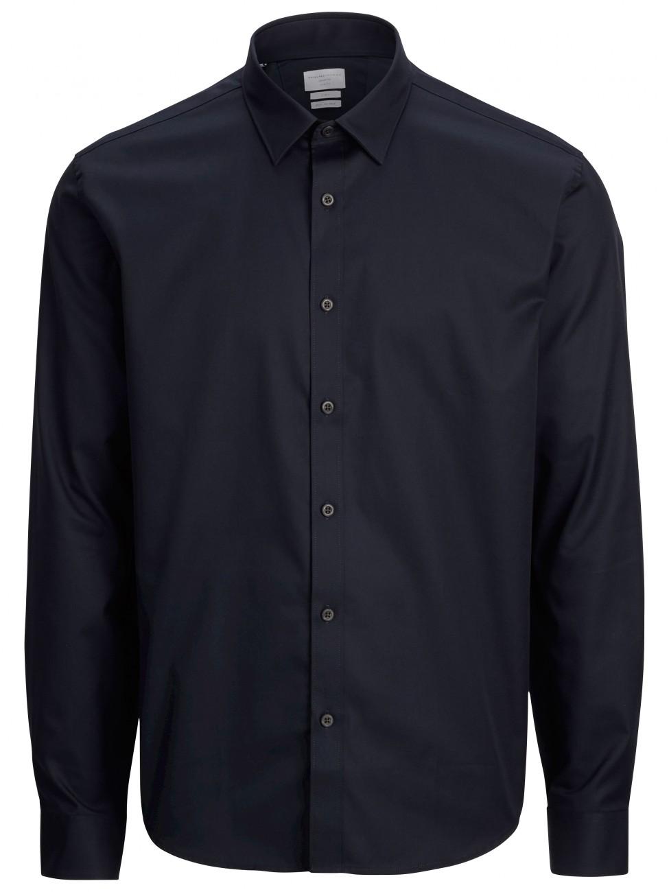 Selected Herren Businesshemd SHDONE-PELLE - CARACAS - Black - Navy - White