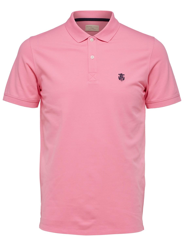 Selected Herren Polo-Shirt SHDARO EMBROIDERY