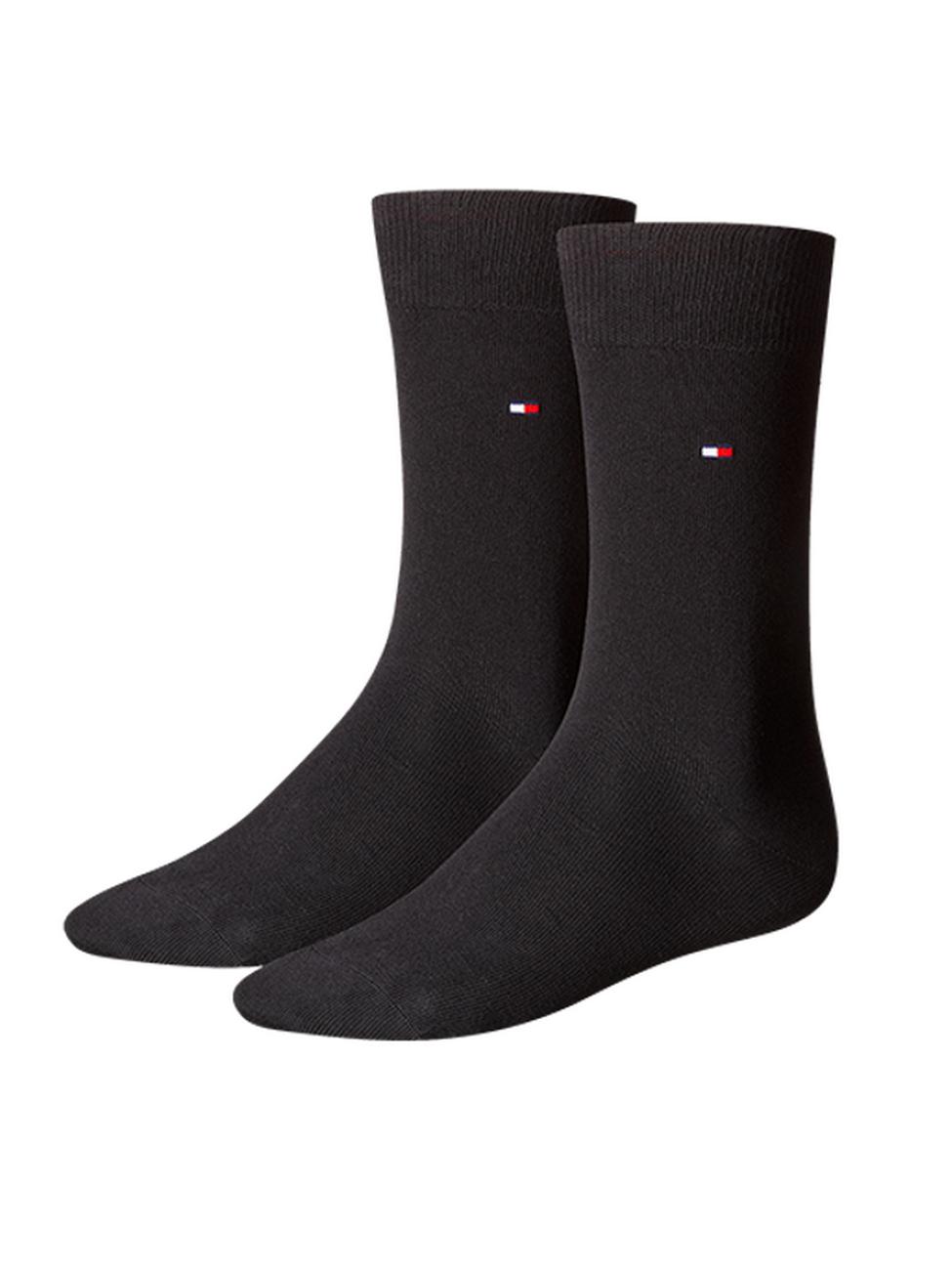 Tommy Hilfiger Herrensocken Classic Business Socken - 2er Pack
